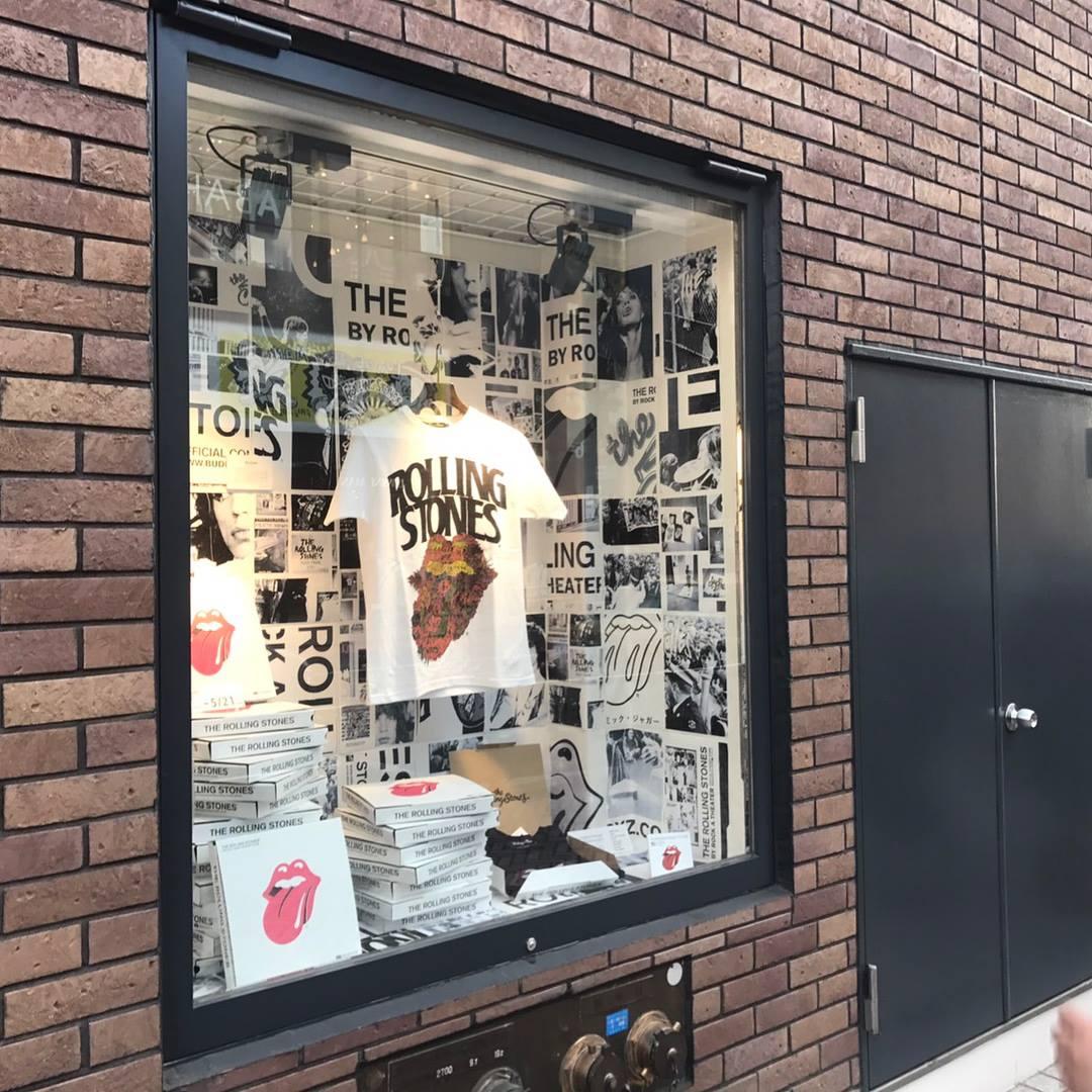 The Rolling Stones pop up at Shibuya MODI 2017.05.01 – 05.21