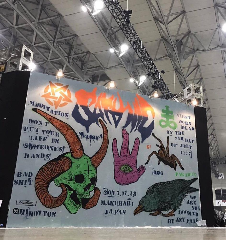 Satanic Carnival 2017 Live Painting