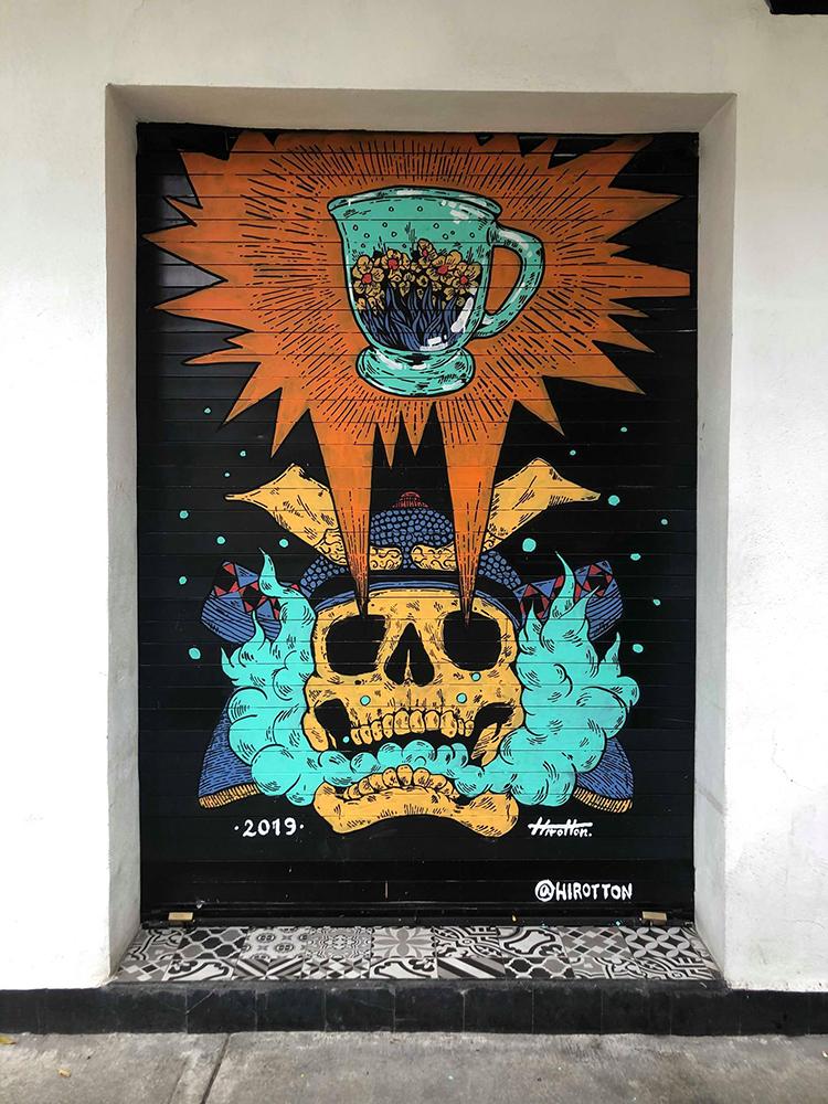 El Mandarino in Mexico city