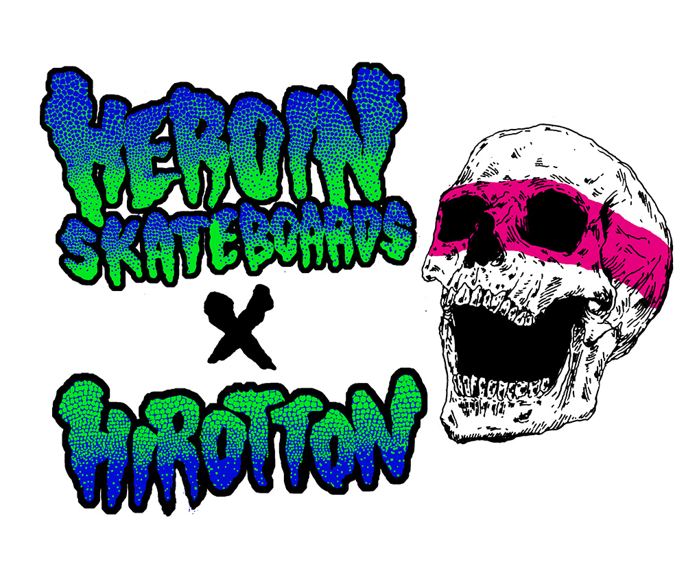Heroin Skateboards Vicious Nature Series