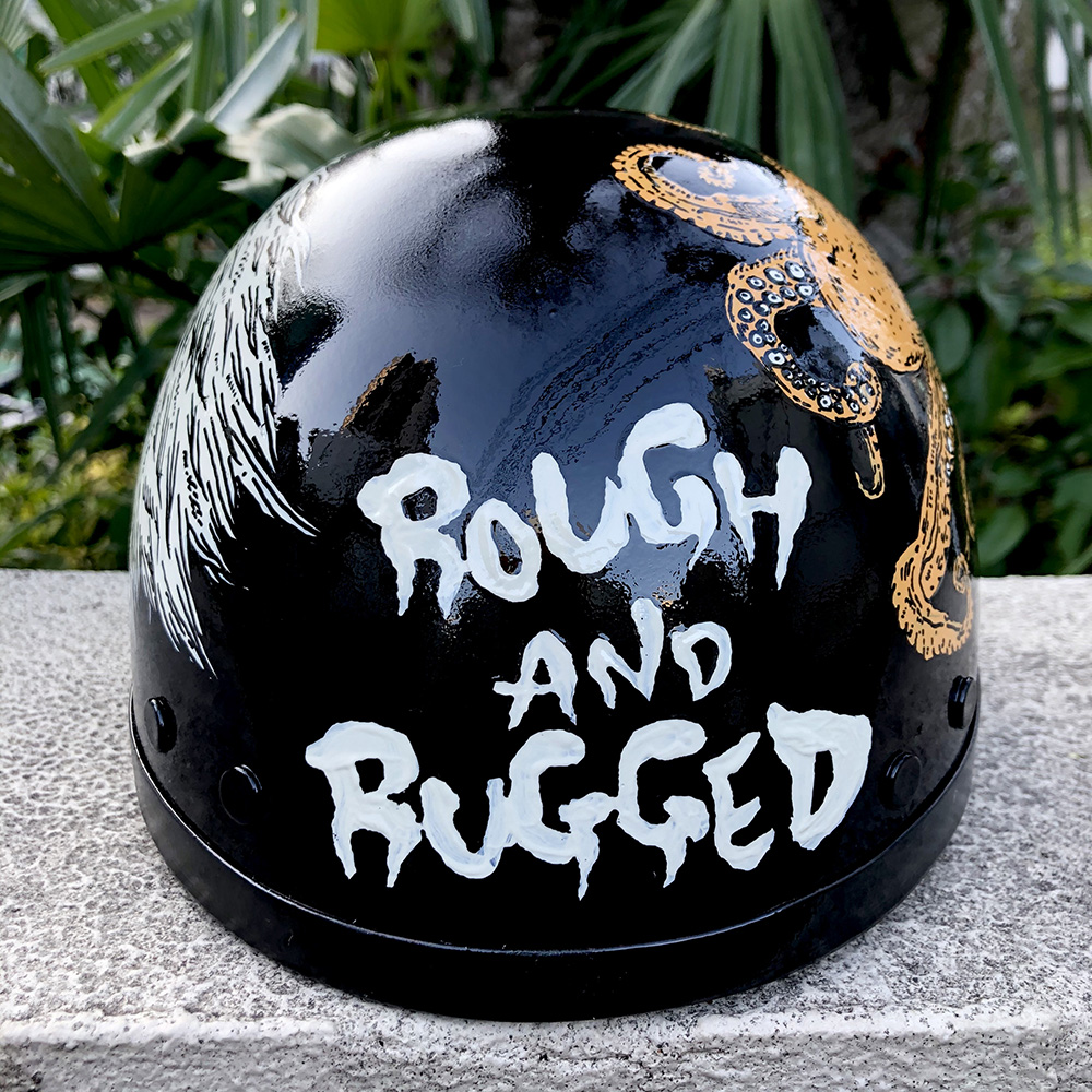 Rough and Rugged Helmet