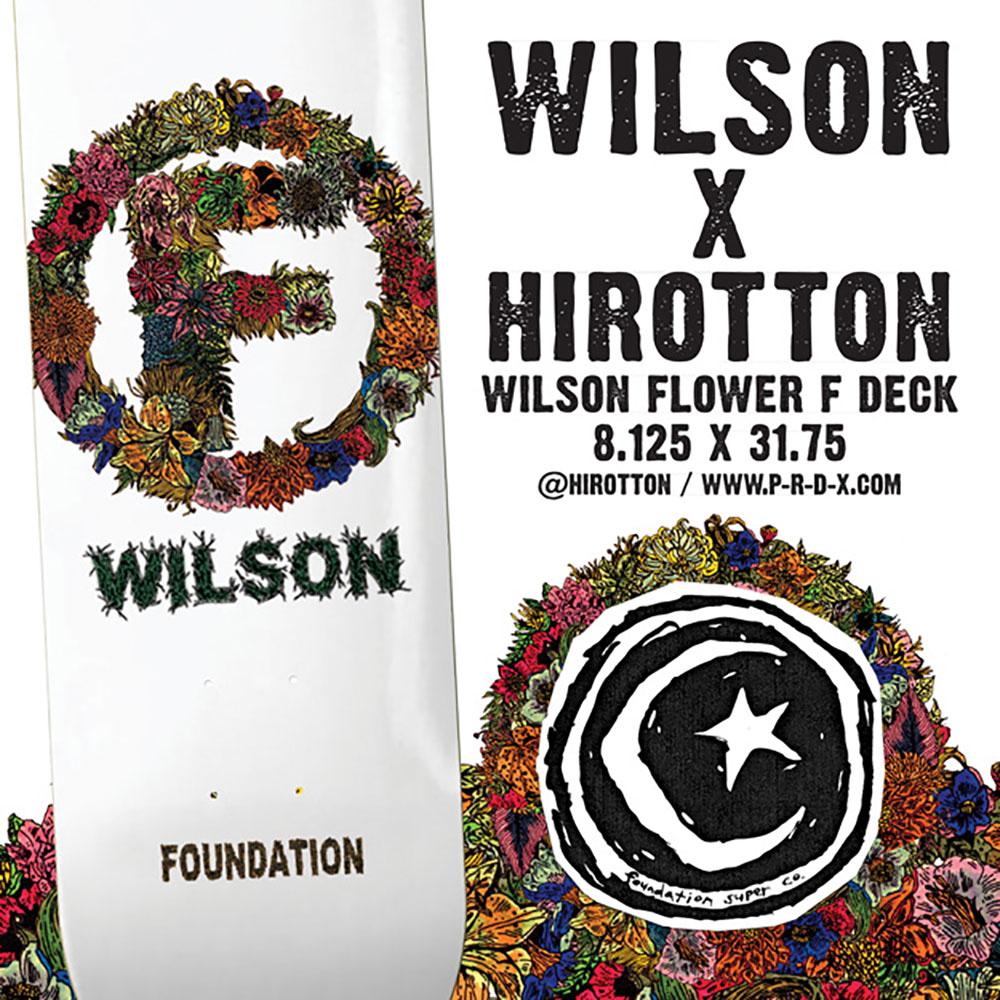 FOUNDATION Skateboards Cole Wilson Model