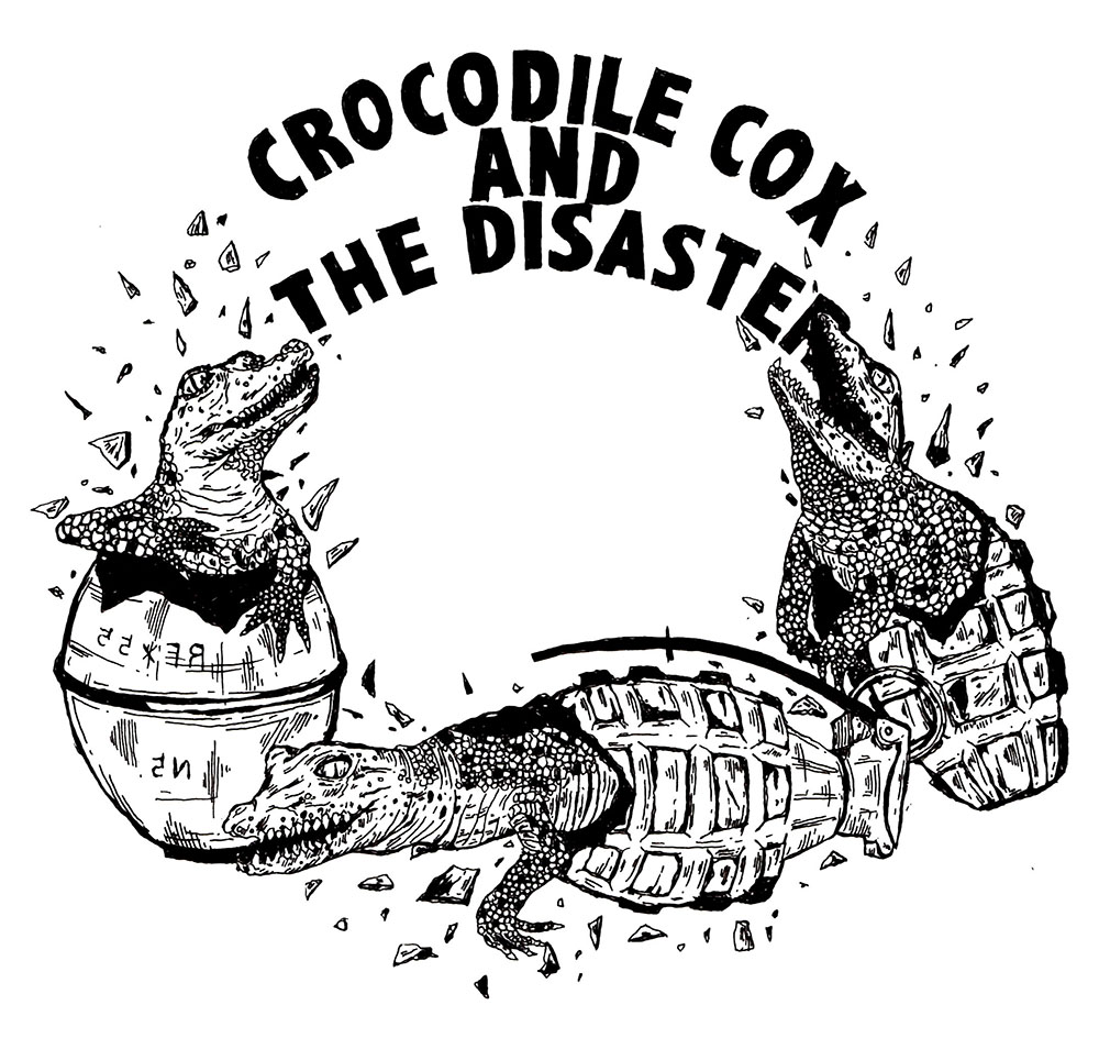 Crocodile cox and the disaster CD