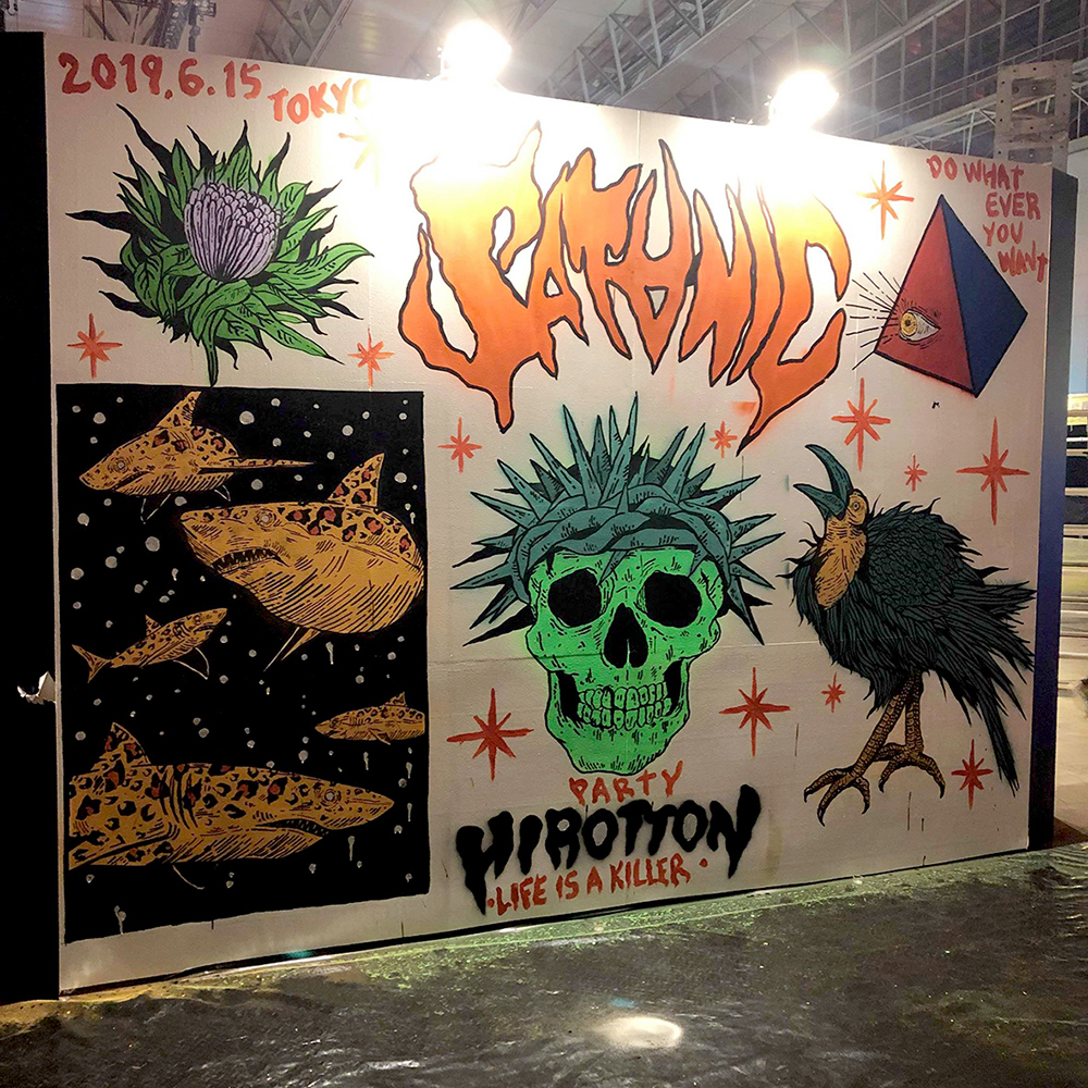Satanic Carnival 2019 Live Painting