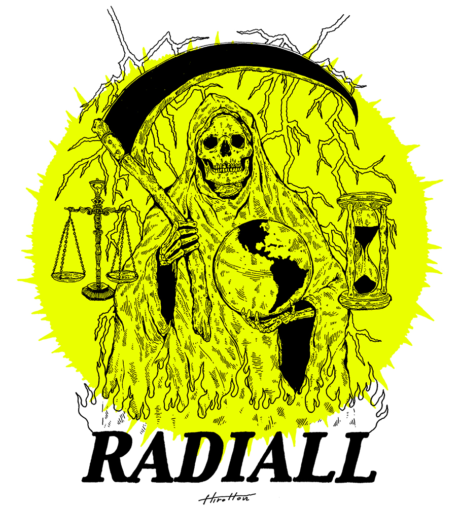 RADIALL Santa Muerte