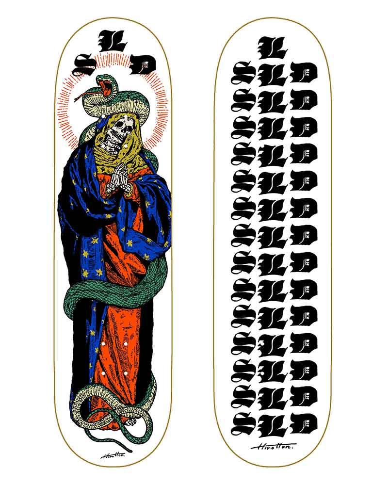 SLD Skateboards Virgin Mary
